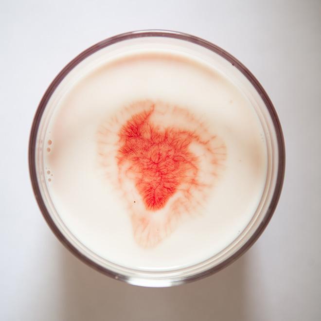 Silvia Bigi - Il sangue e il latte, 2017, dalla serie L'albero del latte, stampa giclée, 40x40 cm