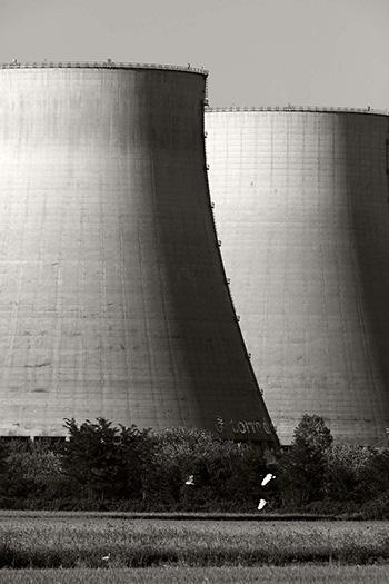 Sohei Nishino - Il Po, 2017, Vecchia centrale elettrica, Pontelagoscuro © Sohei Nishino