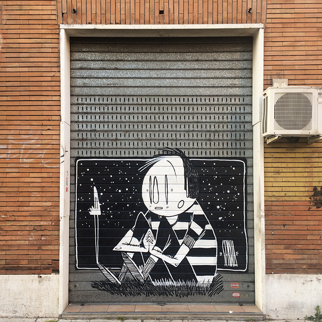 Alex Senna - Street art in Italia. Roma