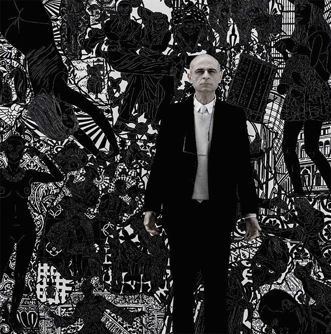 Maurizio Cannavacciuolo - senza titolo [con l'artista], 2005