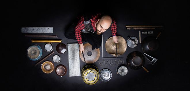 Dario Rossi - Il techno drummer al LOV di Roma