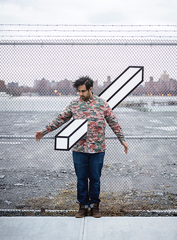 Aakash Nihalani - Picture by Noah Kalina. Courtesy the artist and Wunderkammern Gallery