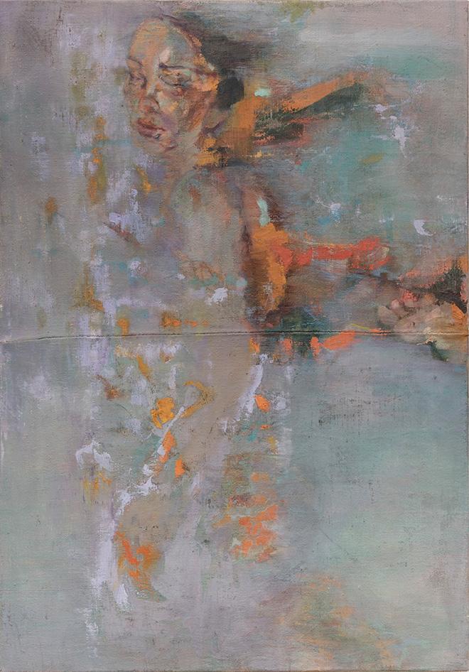 Alessandra Di Francesco - Tutto così silenzioso, 135x90