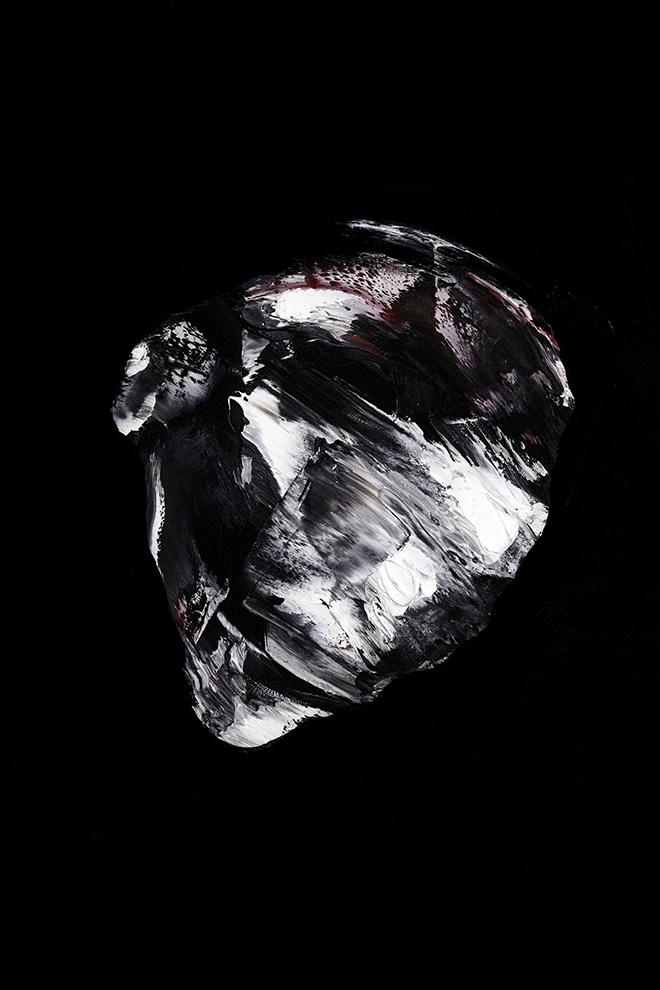 Lorenzo Puglisi - Nell'orto degli ulivi, 2018. Olio su tavola, 207x157 cm, particolare