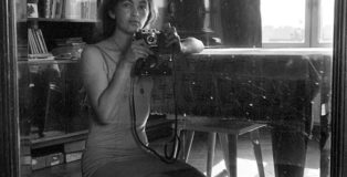 Masha Ivashintsova - Self-Portrait, Leningrad, USSR, 1976