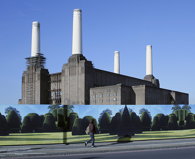 Katya Evdokimova (Great Britain) - Power Station, Honorable mention Urban art. URBAN 2017 Photo Awards