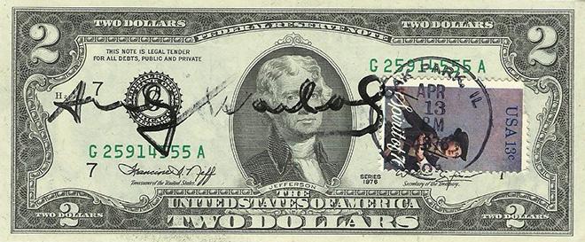 Andy Warhol - ART IS MONEY - MONEY IS ART, Rosso20sette arte contemporanea, Roma