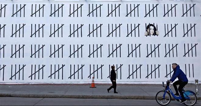 Banksy - Free Zehra Doğan, New York