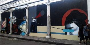 Crist Espiritu + Angge Lorente (Glitch Glitch art) - Manila Savagery