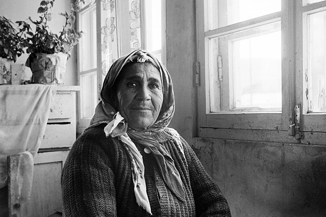 Masha Ivashintsova - Village near lake Sevan, Armenian SSR, 1976