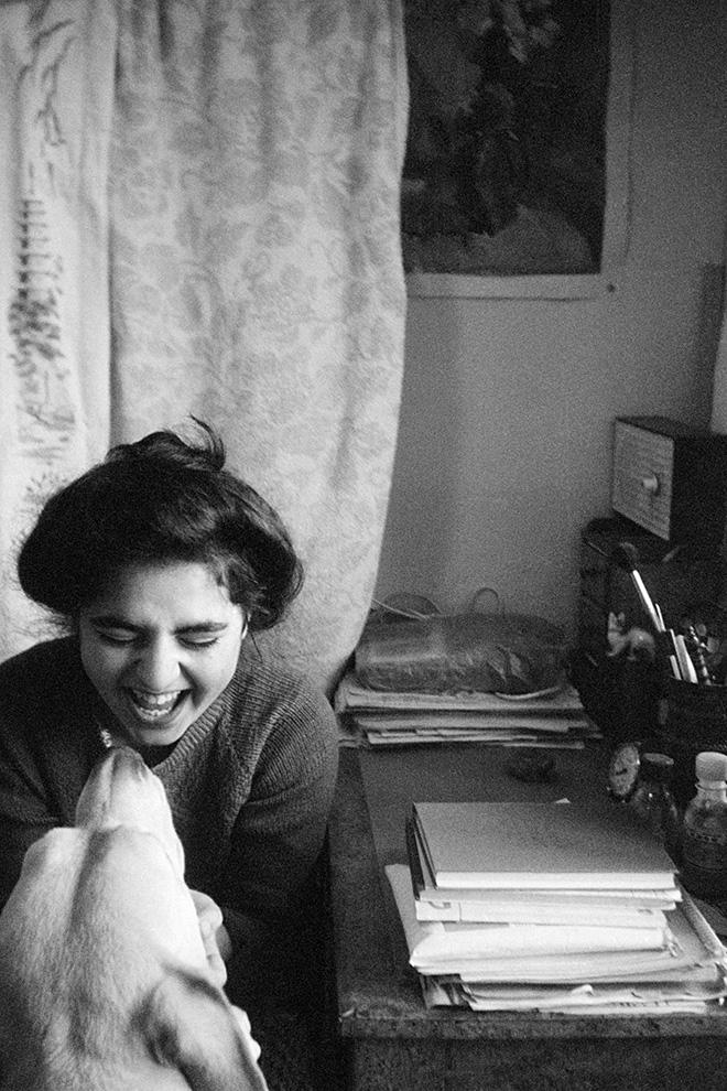 Masha Ivashintsova - Asya Ivashintsova-Melkumyan, Masha's daughter, Leningrad, USSR, 1980