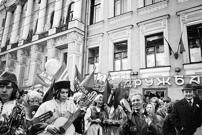 Masha Ivashintsova - Leningrad, USSR, 1975