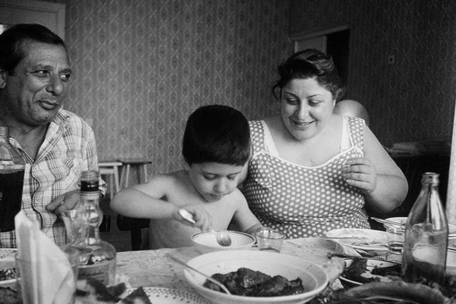 Masha Ivashintsova - Tbilisi, Georgian SSR, 1989