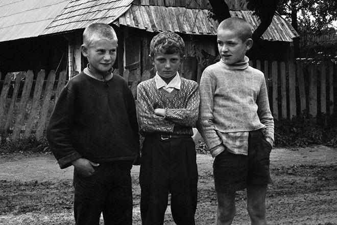 Masha Ivashintsova - Carpathians, Ukranian SSR, 1976