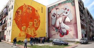 Parco dei Murales - Napoli, Ponticelli: street art in periferia. photo credit: Paolo Rotondo fotografo