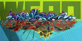 WERC - AR Graffiti (Augmented Reality Graffiti)