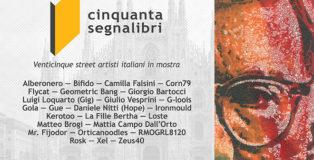Cinquanta Segnalibri - 25 street artisti italiani in mostra