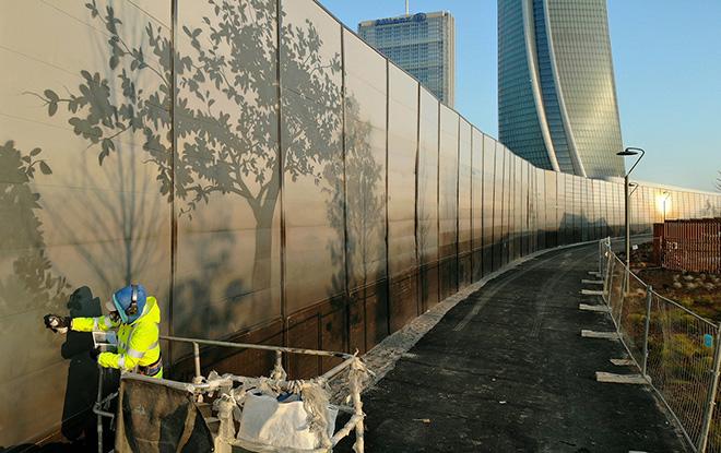 Eron - W.A.L.L. (Walls Are Love's Limits), CityLife, Milano