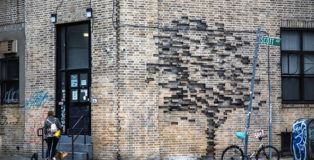 Pejac - Fossil, 27 Scott Ave. Brooklyn, NY 11237, USA