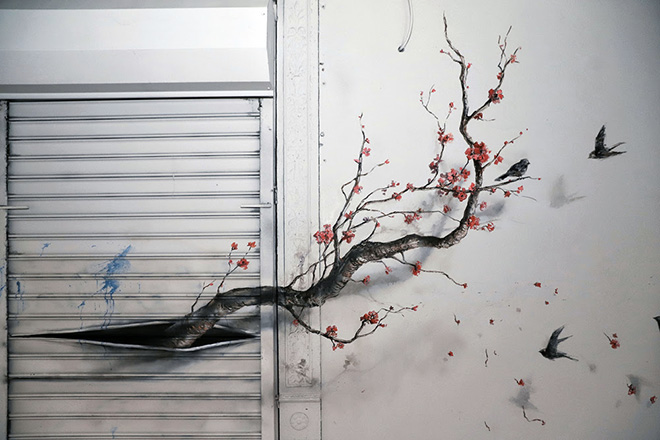 Pejac - Inner Power, 2 Henry St, New York, NY 10038, USA