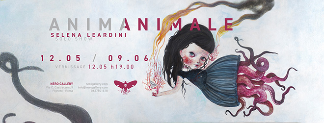 Selena Leardini solo show - ANIMANIMALE