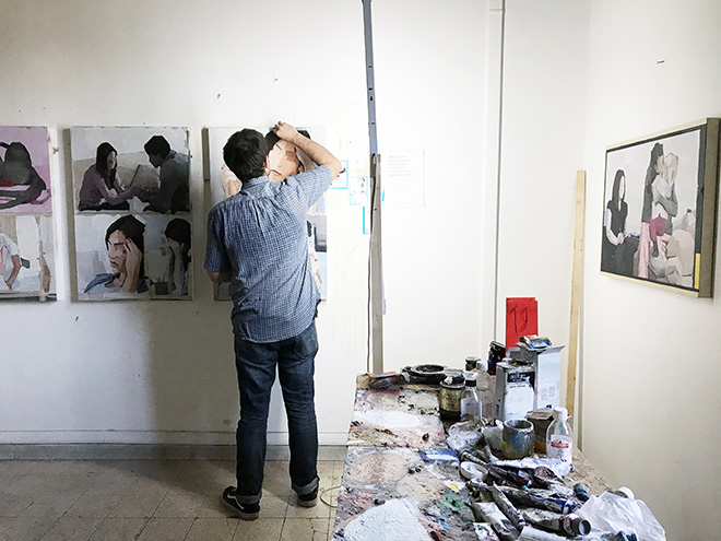Luca Grimaldi - Studio, Qualcosa del genere