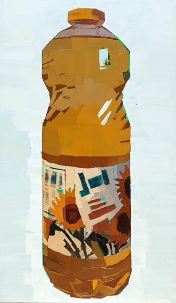 Luca Grimaldi - Olio su tela