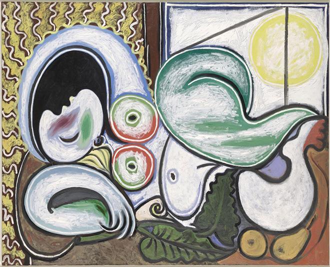 Pablo Picasso - Nudo sdraiato, 1932, olio su tela, 130x161,7 cm. Paris, Musée National Picasso. Credito fotografico:© RMN-Grand Palais (Musée national Picasso-Paris) /Adrien Didierjean/ dist. Alinari. ©Succession Picasso, by SIAE 2018