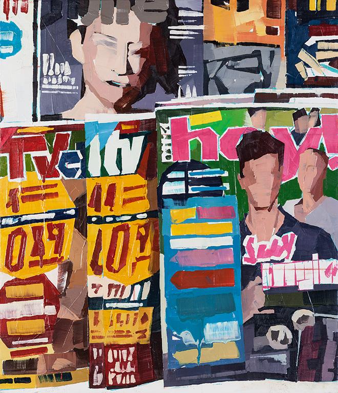 Luca Grimaldi - Quadri di riviste, serie