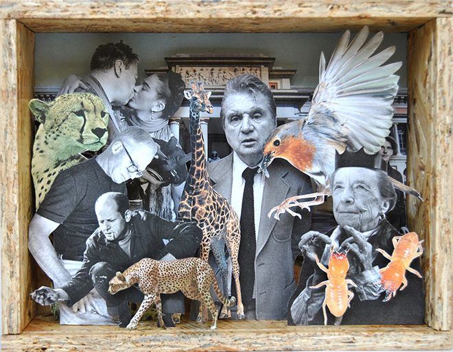 Alex Urso - Diorama, Welcome to the Jungle exhibition