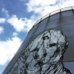 Brome – Narnia: graffiti sul silos