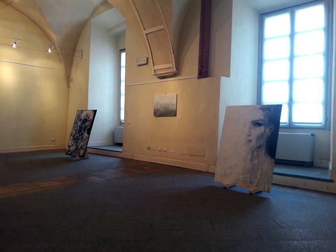 Daniele Bongiovanni - Exist, exhibition view, Palazzo Broletto, Pavia