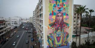 Decertor - Rabat, Jidar, Toiles de rue 2018. photo credit: Walid Ben Brahim
