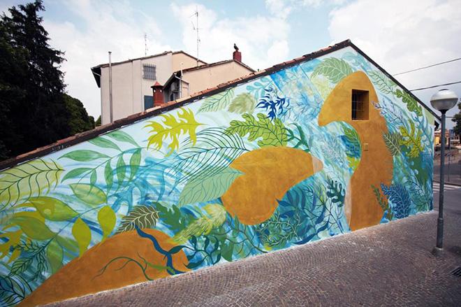 Gola - Muralì street art festival, Forlì, 2018