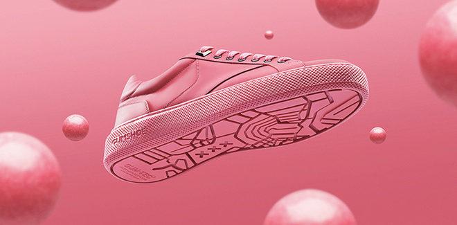 Gumshoe – Le sneakers dal chewing gum