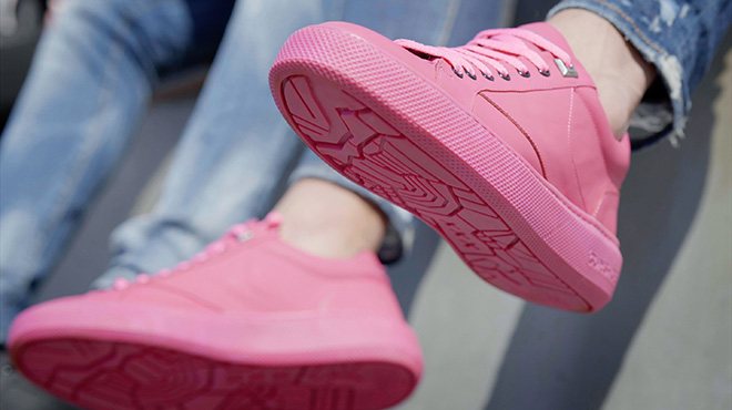 Gumshoe - Le sneakers dal chewing gum