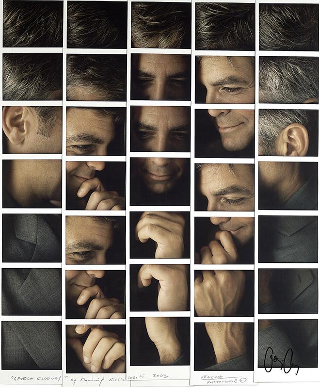Maurizio Galimberti - George Clooney, 2003