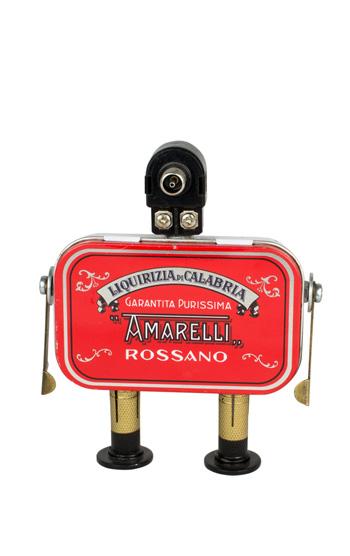 Massimo Sirelli - Robot Nerone Amarelli, 2017