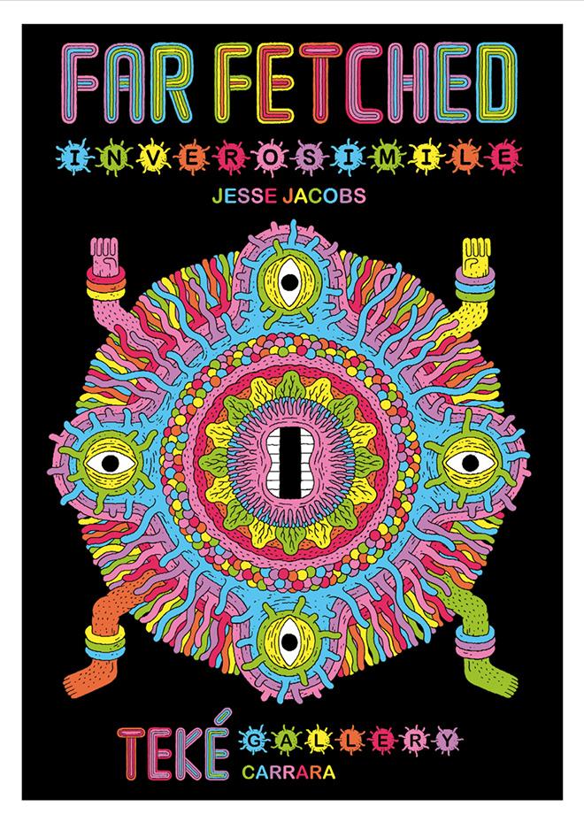 Jesse Jacobs - Serigrafia Far-Fetched, 50x70 cm