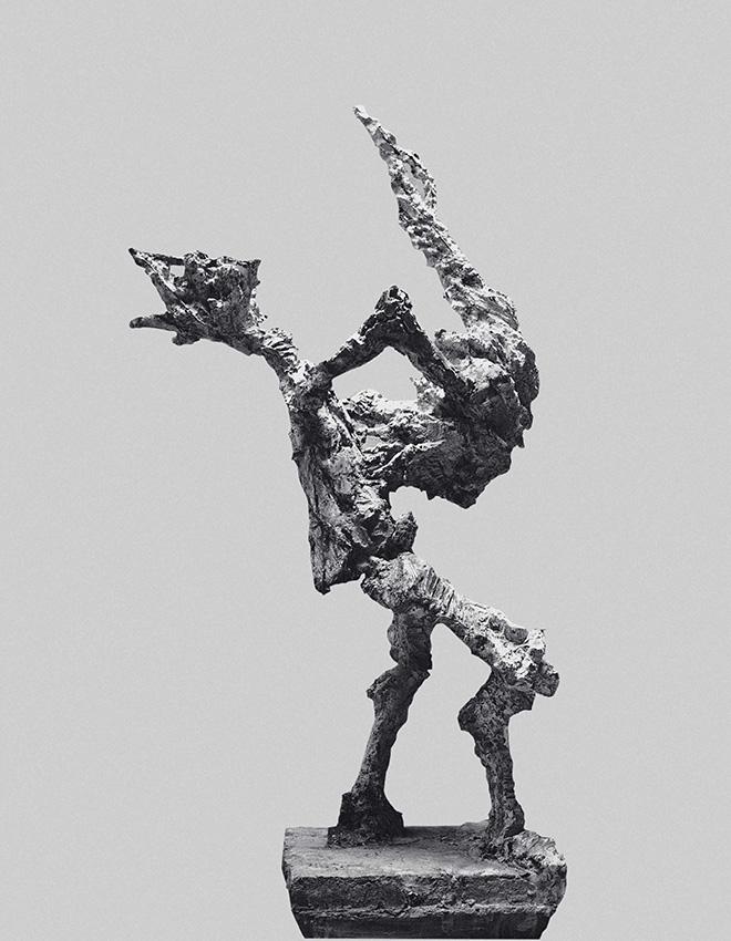 Alik Cavaliere - Giochi Proibiti, 1958-59, cemento, cm 202x76x110 - Palazzo Reale