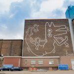 Keith Haring – Ad Amsterdam svelato un murale di 30 anni fa