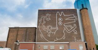 Keith Haring - Murale ad Amsterdam. Photo: Hanna Hachula. Courtesy Stedelijk Museum