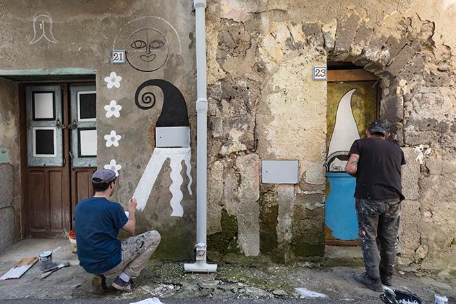 RI-TORNA MELIZZANO (Collettivo Boca) - Guerrilla Spam + Andrea Casciu, Melizzano (BN). photo credit: Antonio Sena