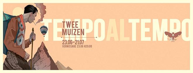 Twee Muizen - Tempo al Tempo, exhibition at Nero Gallery