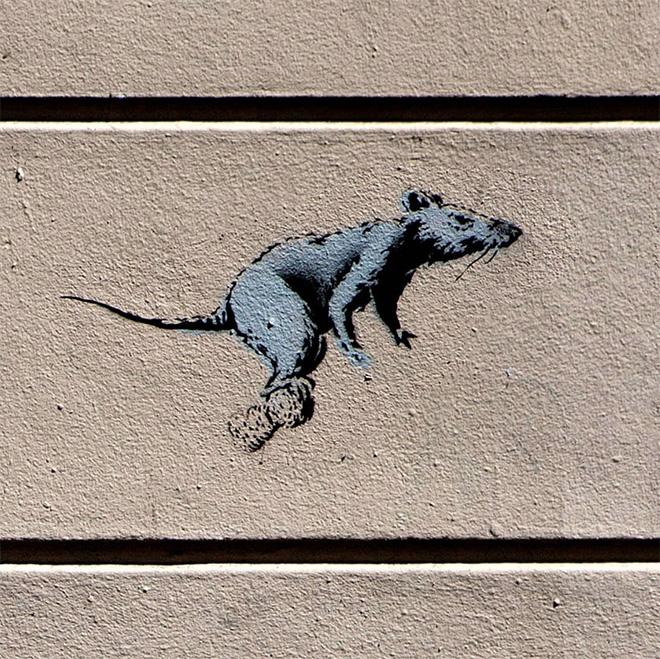 Banksy - Staircase, Montmartre, Paris