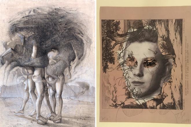 [tecnica-mista-su-carta] – Mostra d'arte