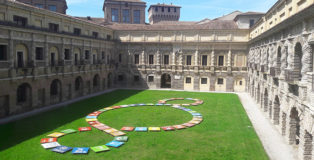 Michelangelo Pistoletto - Terzo Paradiso, installazione, Mantova