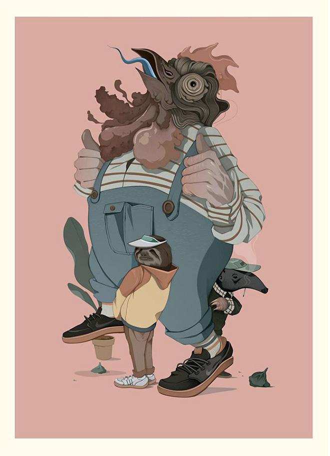 Twee Muizen - Artwork
