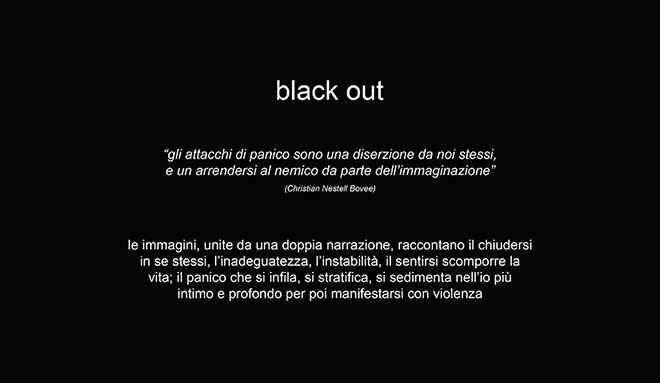 Alessandro Fruzzetti - Black Out