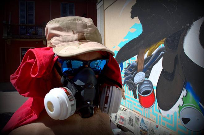 Alessio Bolognesi - Ottertrash, murale Osnago (MI)